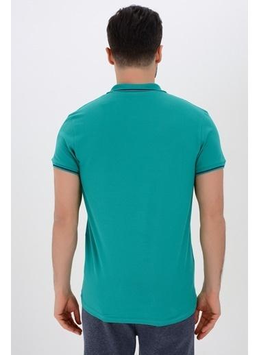 Tryon Tryon Erkek Pamuklu Polo T-Shirt Beta Lacivert